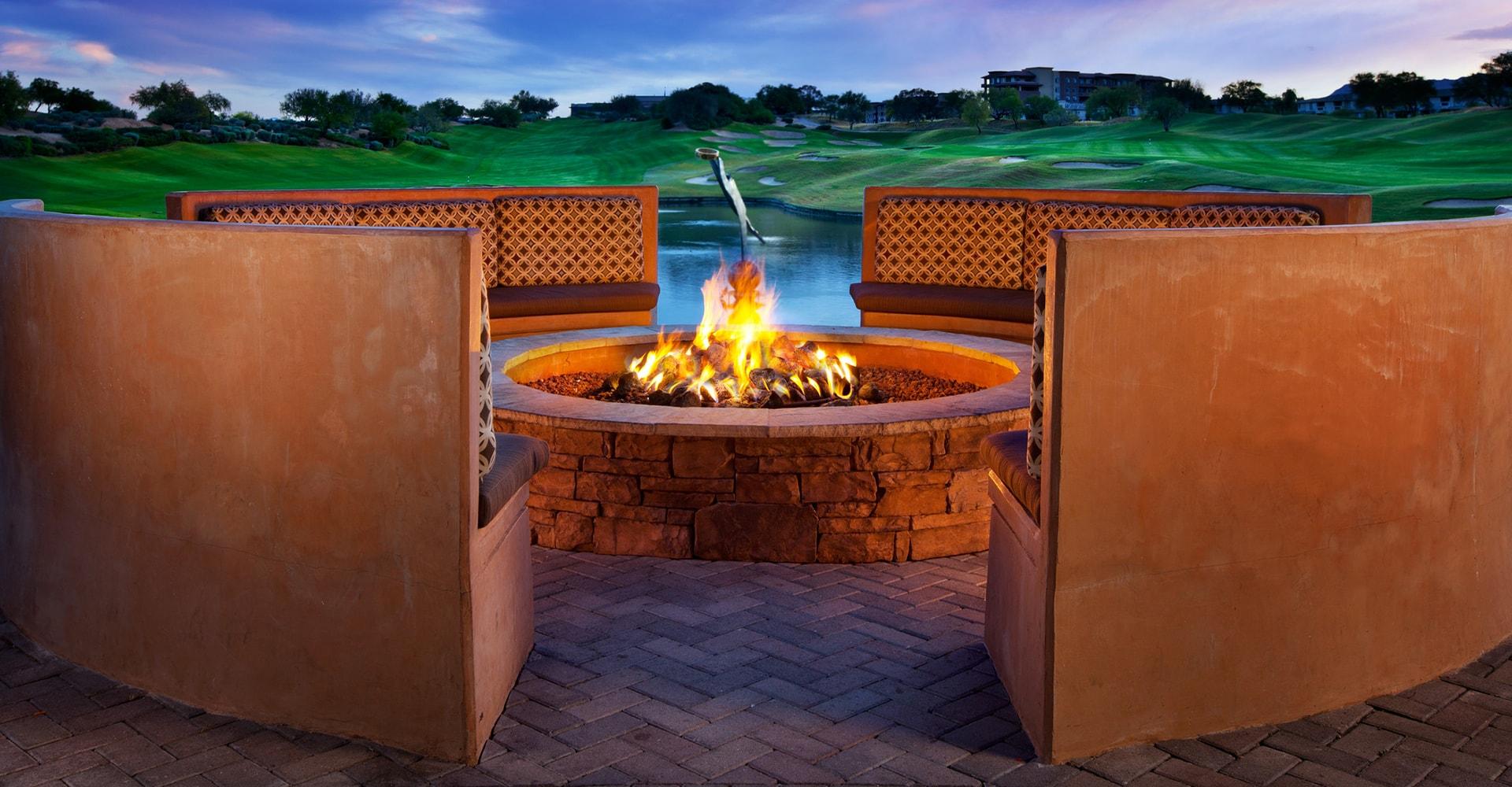 Kierland Westin Resort Fire PIt In Scottsdale Arizona