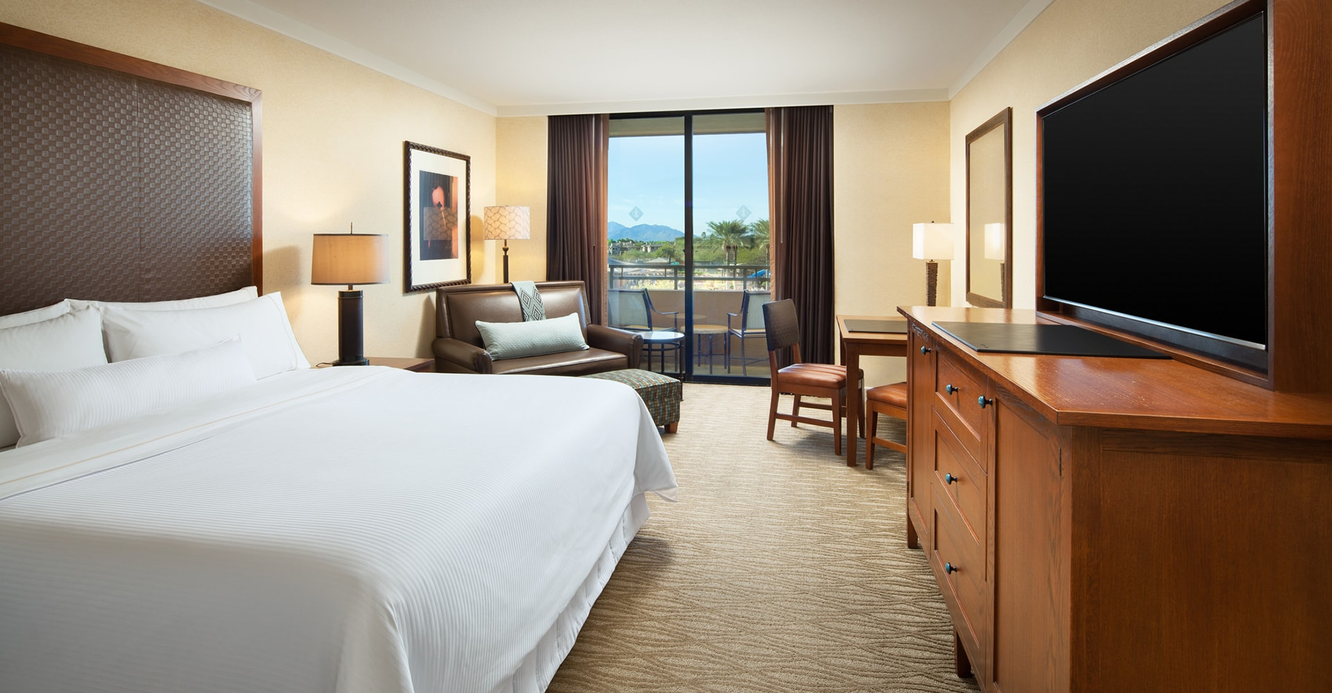 Kierland Westin Resort Guestrooms In Scottsdale Arizona