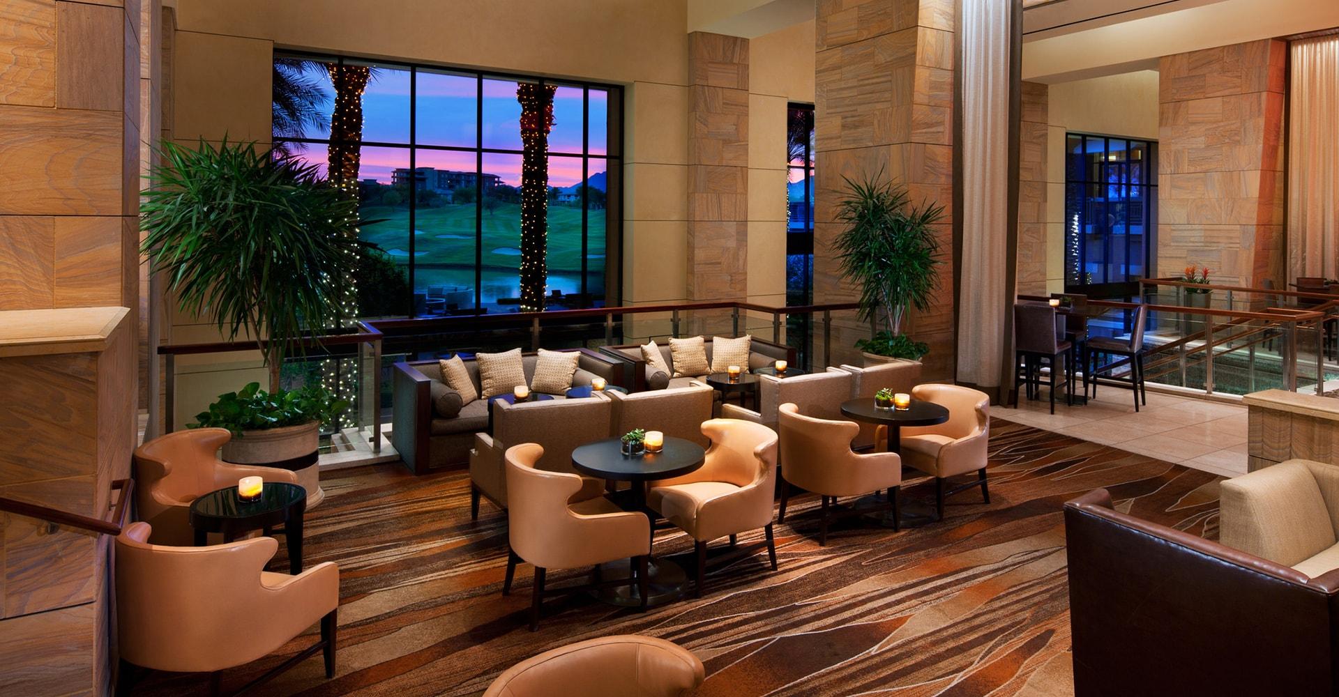 Kierland Westin Resort Lobby In Scottsdale Arizona