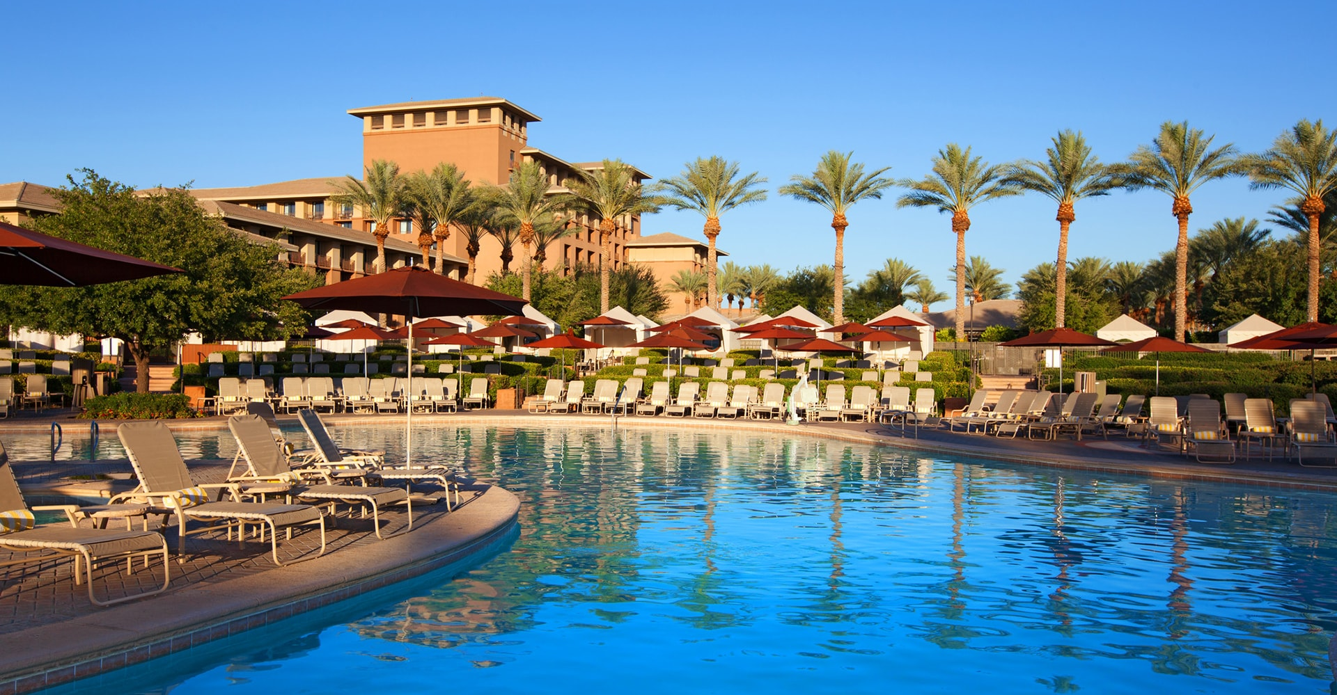 Kierland Westin Resort Pool In Scottsdale Arizona
