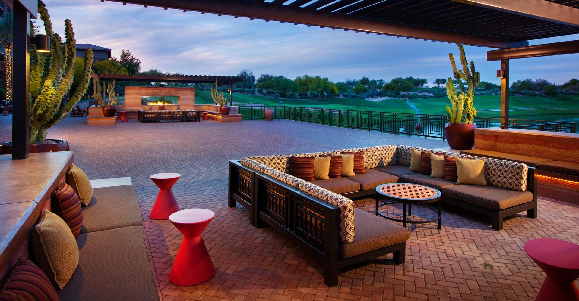 Kierland Westin Resort Terrace In Scottsdale Arizona